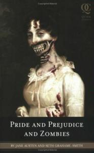 The Book Club chose Pride and Prejudice and Zombies for its first reading.