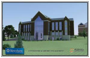 Contributed photo: The new academic building is scheduled to open in fall 2012.