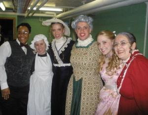 Contributed photo: 'The Importance of Being Earnest' featured a tightly-knit cast of Mercyhurst students.