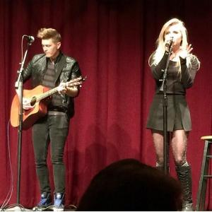 Sam Beckas photo: Tiffany Houghton and Agee opened the recent S.A.C. event, co-showcasing with Teddy Geiger.