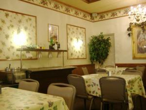 Barbato's interiors are inspired by traditional Italian restaurants.