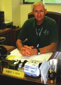 Jill Barrile photo: Police Chief Robert Kuhn is settling into his new post.