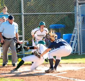 Mercyhurst softball team started their pre season scrimmages with a 7-2 win over Mercyhurst North East on Friday Sept. 26.: Jake Lowy