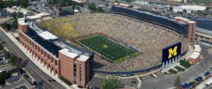 mgoblue.com photo: Mercyhurst will be playing Slippery Rock University in Michigan Stadium, one of the largest seating capacities in a college stadium.