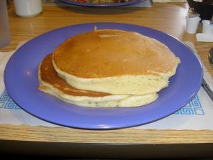 Breakfast Place's popular pancakes
