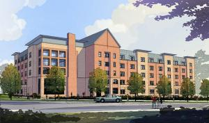 Contributed photo: A rendering of Gannon's proposed residence hall, scheduled to open fall 2011.