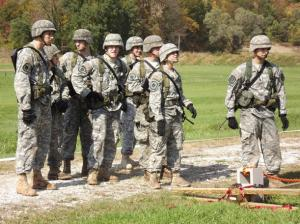 Contributed photo: Mercyhurst College's Pride of PA ROTC Battalion competed in the second annual Brigade Ranger Challenge from Friday, Oct. 14 to Sunday, Oct. 16.