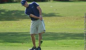 Mercyhurst senior golfer Tyler Bidwell