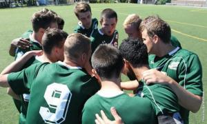 Contributing photo: Men's soccer team has powered through three competitive opponents after their tough opening loss to Notre Dame College.