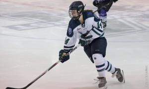 Ed Mailliard photo: Sophomore Maggie Rothgery scored her second career goal against Minnesota State University-Mankato this past weekend.