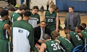 Ed Mailliard photo: The men's basketball team was voted to finish sixth in the Pennsylvania State Athletic Conference Western Division for the 2013-2014 season.