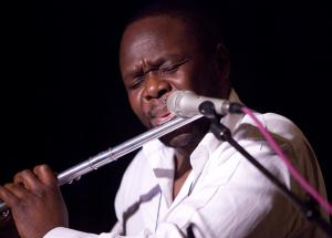 Samite will blend musical stylings at the Walker Recital Hall.: almaartistbooking.com photo