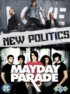 Contributed photo: Mayday Parade and New Politics were the bands chosen to perform at this year's Springfest.