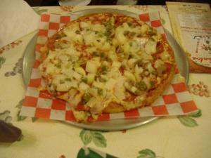 Barbato's Supreme Pizza.
