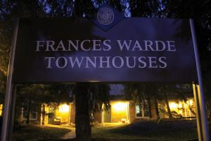 Ethan Magoc photo: The carbon monoxide leak at Mercyhurst took place in one of the Frances Warde Townhouses.