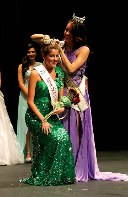 Lindsey+Lenhart+has+served+as+Miss+Southwestern+Pennsylvania+for+a+year.+She+hopes+to+one+day+be+crowned+as+Miss+America.