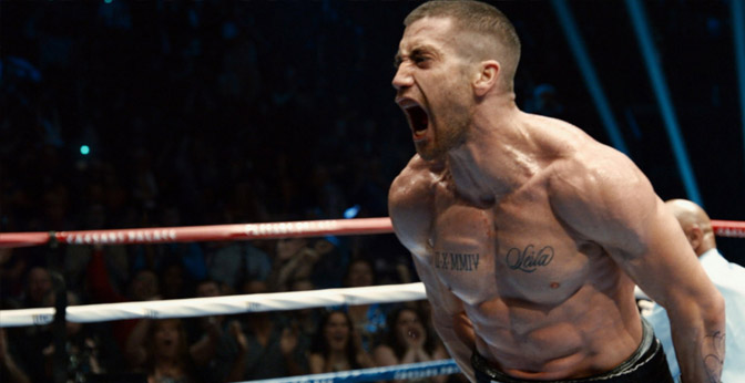 """The movie """"Southpaw,"""" starring Jake Gyllenhaal, follows the story of Billy Hope as he tries to get his daughter back after she is taken into protective custody."""