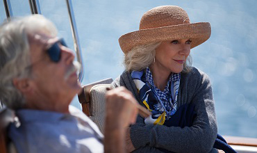 Blythe Danner as the lead character Carol in the movie Ill See You in My Dreams.