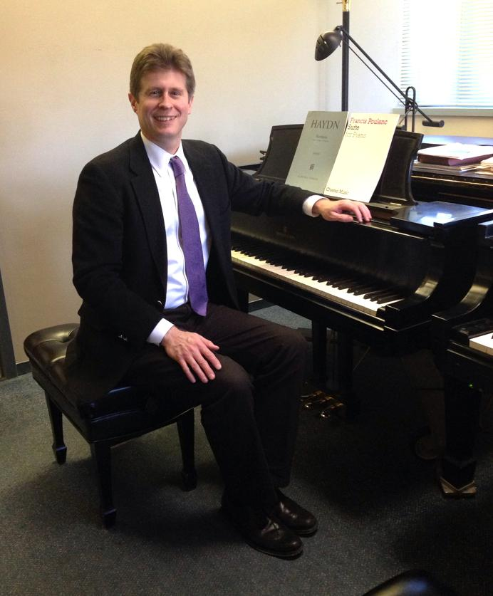 Nathan Hess, D.M.A, chair of the Music Department and assistant professor of Piano.