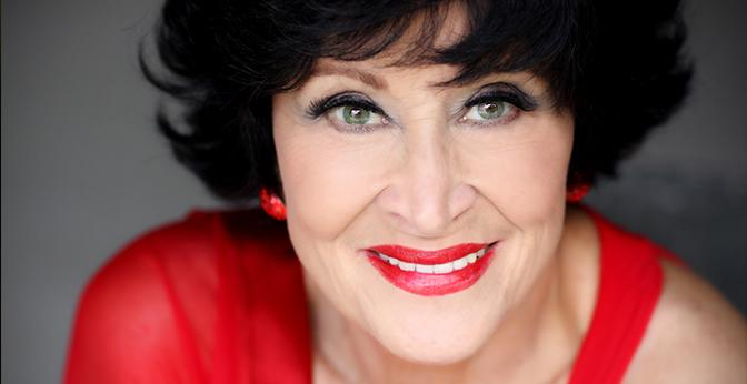 Chita Rivera, the Tony Award–winning Broadway star who will be performing in the D' Angelo Performing Arts center.