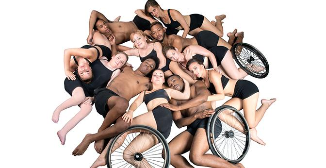 The+all-inclusive+Dancing+Wheels+Company+will+perform+Oct.+7+at+Mercyhurst+University.+