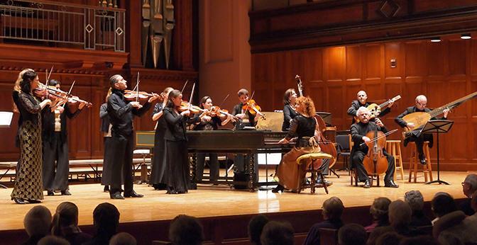 """The Cleveland Baroque Orchestra, """"Apollo's Fire."""""""