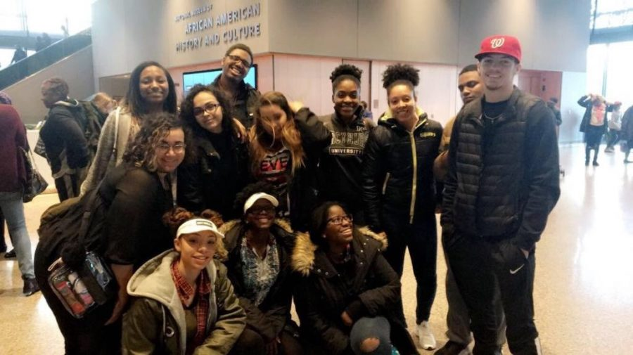 Black Students for Unity visited the National Museum of African American History and Culture in Washington, D.C.