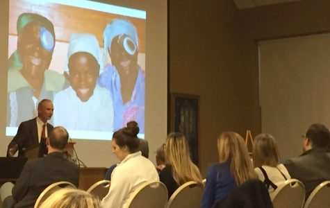 Villella receives award: Erie optometrist presented with 26th annual Romero award