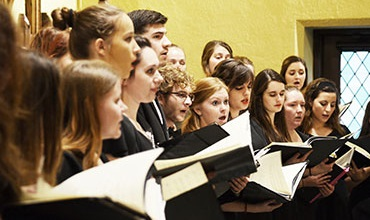 The Mercyhurst Concert Choir will perform in the Performing Arts Center this Sunday at 4 p.m.