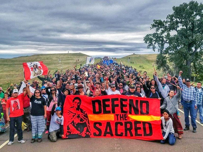 Protests over the Dakota Access Pipeline have spread throughout the nation as Americans rally together to defend sacred land as well as the environment.