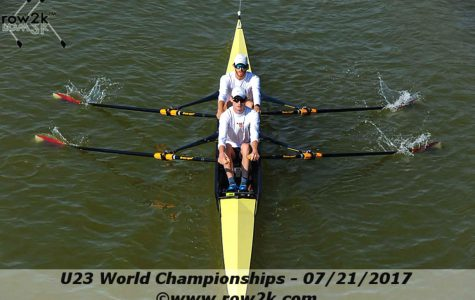 Rowers compete in Worlds