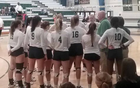 Volleyball splits 2-2 in tourney