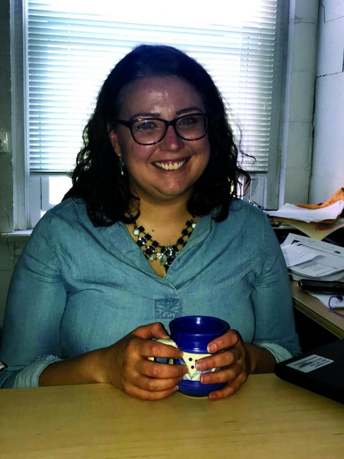 Kathryn Duda, Ph.D., is a new addition to Mercyhurst.