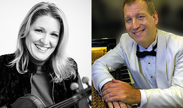 Rachel Stegeman and David Allen Wehr will open the 2017-18 season of the Roche Guest Artist series on Oct. 16 at 8 p.m.