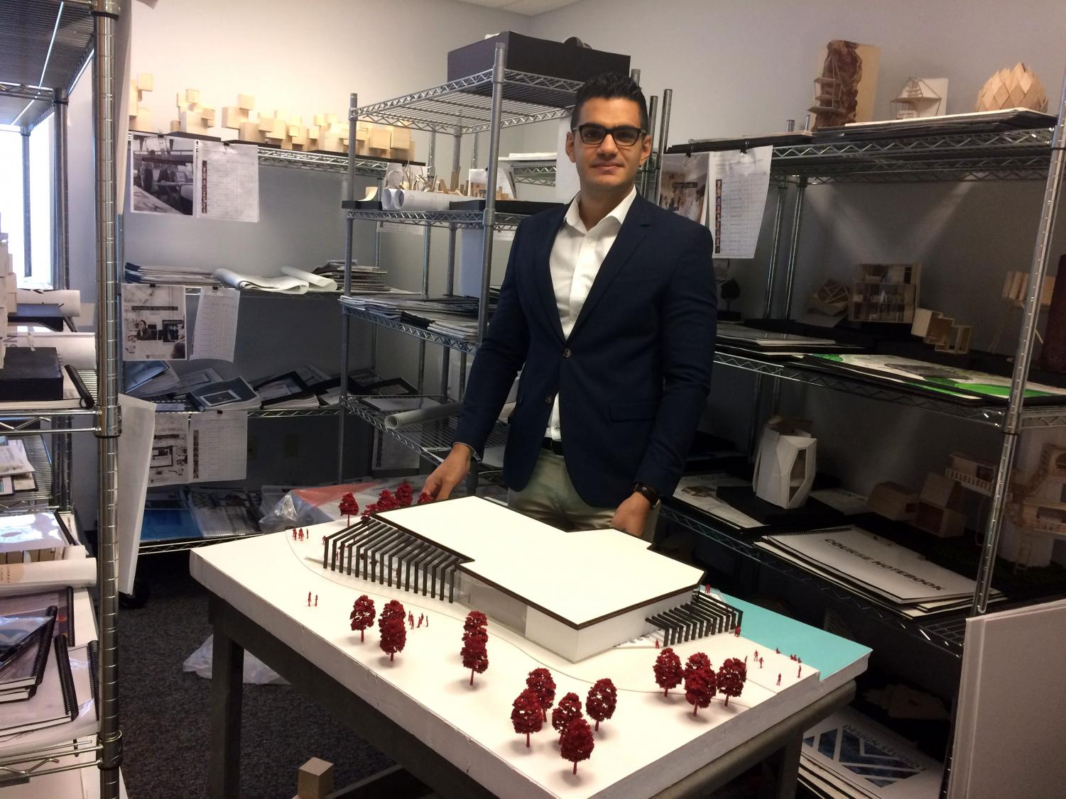 Keyman Asefi, who was raised in southeast Asia, is an instructor of Interior Architecture and Design at Mercyhurst.