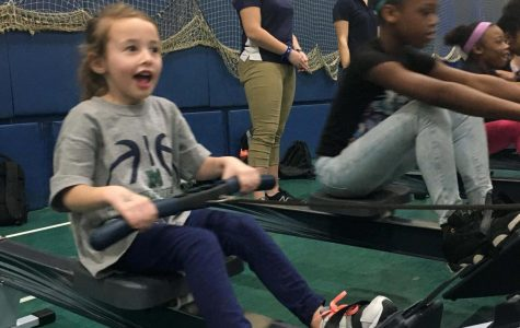 Athletes inspire young girls
