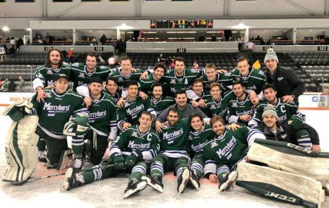 Men's hockey AHA champs