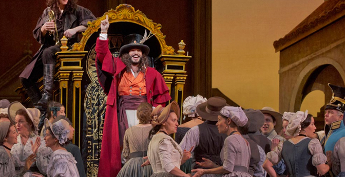 'L' Elisir d' Amore' will be live screened from the Metropolitan Opera on Feb. 10 in the PAC.