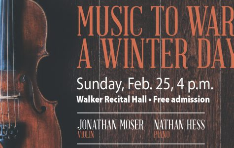 Moser presents 'Music to Warm a Winter Day'