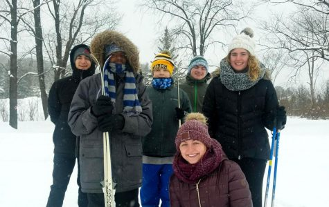 Olympians brave Erie winter