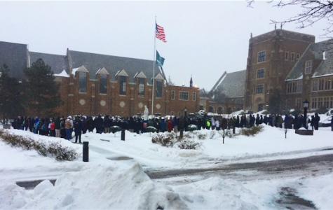 Seventeen minutes: Students walk out to support nonviolence