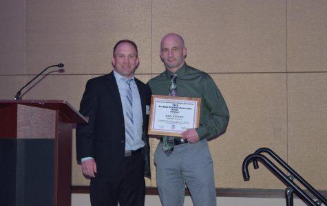 Hurst wrestling coach Mike Wehler honored
