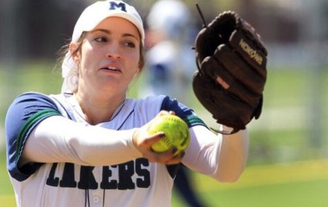 Softball player named pitcher of the week
