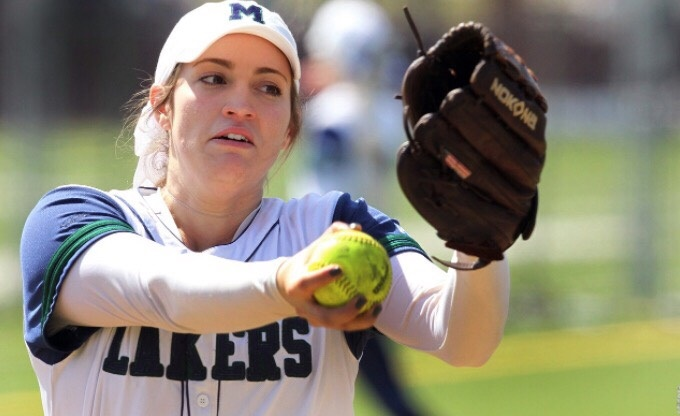 Tori+Pierucci+enters+Mercyhurst+Softball+as+a+junior%2C+receiving+her+accolade+only+14+innings+into+her+season.
