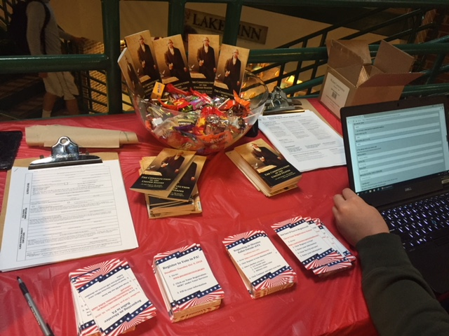 Poli Sci department helps students  exercise the right to vote in midterms