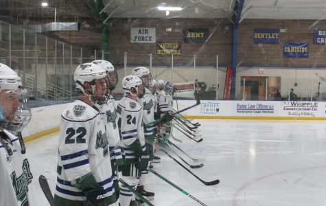 Men's ice hockey falls to Army in home series