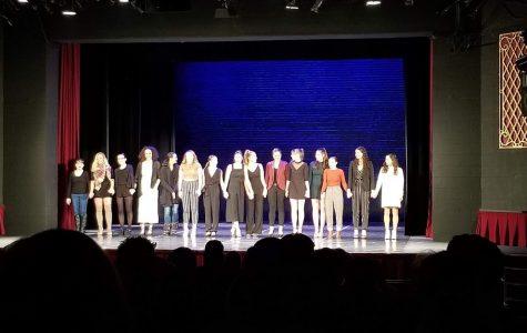 Student dance majors choreograph show