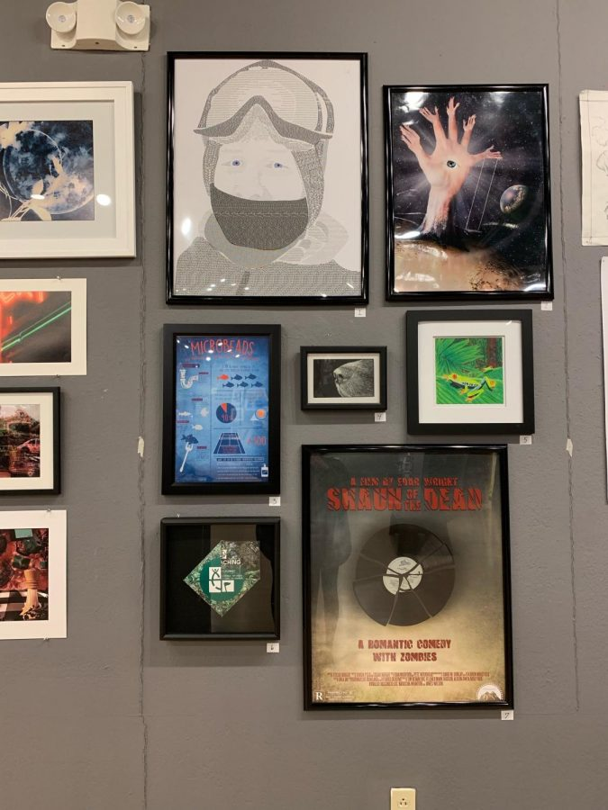 Gallery features sophomore works