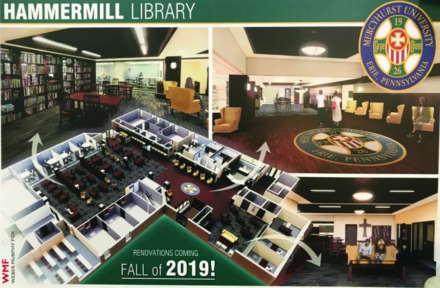 Library renovations for 2019