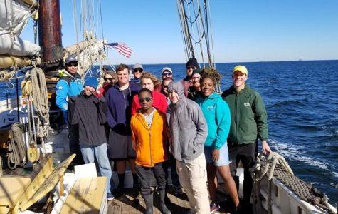 AIM set sail on winter break